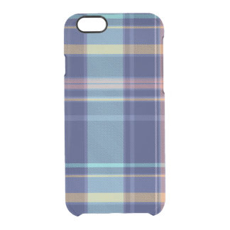 Twilight Plaid Clear iPhone 6/6S Case