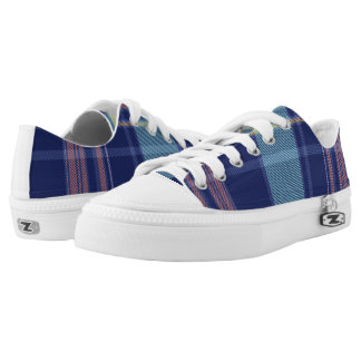 Twilight Plaid Low Tops