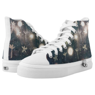 twilight print printed shoes