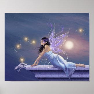 Twilight Shimmer Fairy Poster Art Print