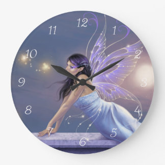 Twilight Shimmer Fairy Wall Clock