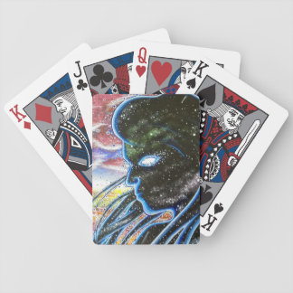 Twilight Silhouette Bicycle Playing Cards