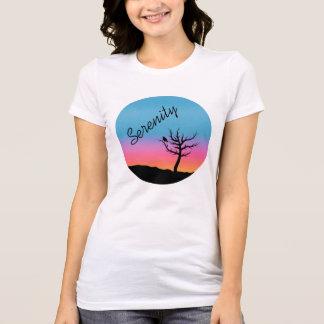 Twilight Sky Serenity Design T-Shirt