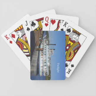 Twilight stern playing cards