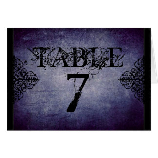 Twilight Table Card