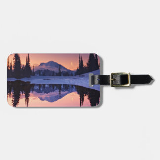 Twilight, Tarn and Crescent Moon Luggage Tag
