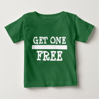Twin 2 Buy One Get One Free Baby T-Shirt