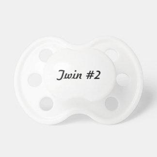 Twin #2 pacifier