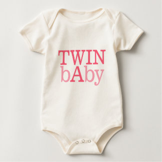 Twin A and Twin B Baby Bodysuit