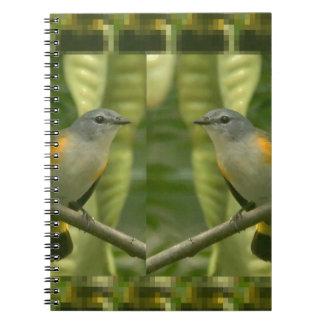 Twin American Wild Birds - Kids Fancy Fantasy Gift Spiral Notebooks
