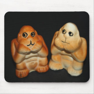 Twin Apes Mouse Pad