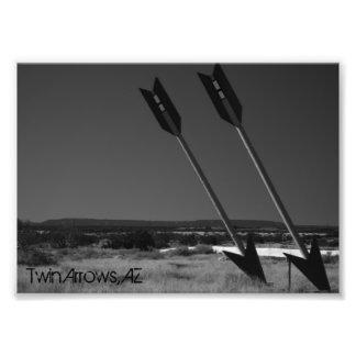 Twin Arrows Photo