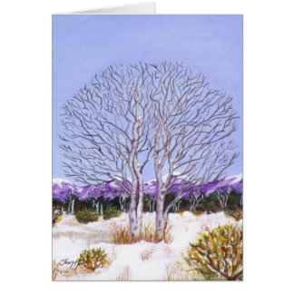 Twin Aspens Card