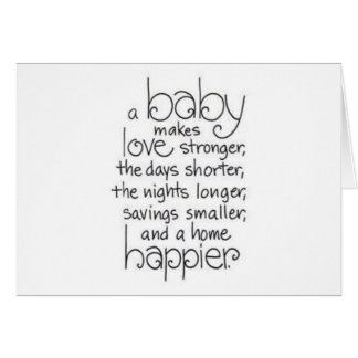 TWIN BABIES DOUBLE THE LOVE/EVERYTHING CARD