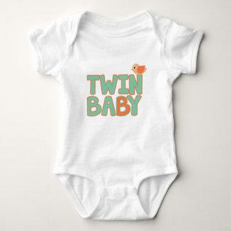 "Twin Baby ""B"" Baby Jersey Bodysuit"