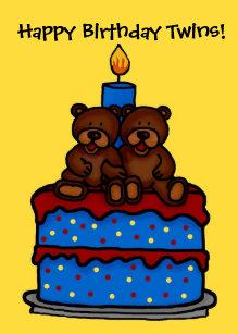 Happy Birthday Twins Gifts On Zazzle Au