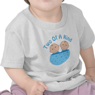 Twin Boy Two Of A Kind Baby Tee