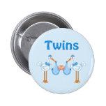 Twin Boys Badges