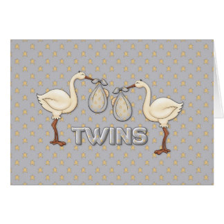 Twin Boys Card