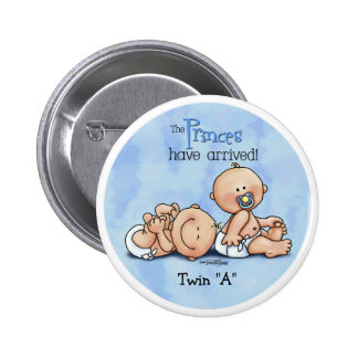 Twin Boys - Royal Princes 6 Cm Round Badge