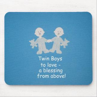 Twin boys to love! mousepad