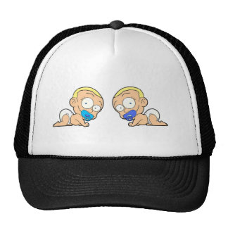 Twin boys Two of a kind collection items Cap