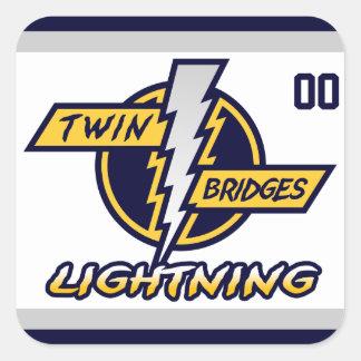 Twin Bridges Sticker