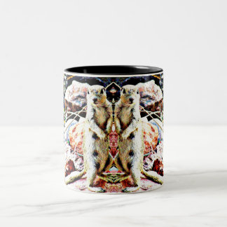 Twin Charlies' Two Tone Coffee Cup/Mug Two-Tone Coffee Mug