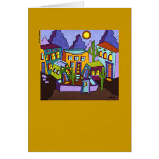 Twin Cities I note card