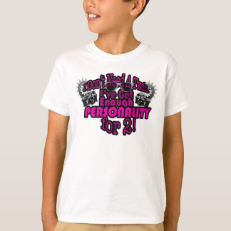 Twin Day Solo or Twins's Sister Personality - T Shirt