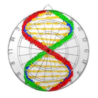 Twin DNA Strands Dart Boards