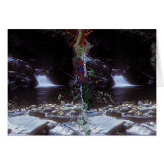 Twin Falls Peaking Greeting Card