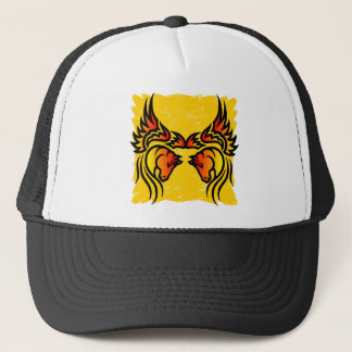 Twin Flame Pegasus Trucker Hat