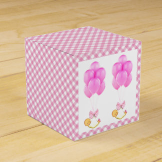 Twin Girls Baby Shower Favour Box