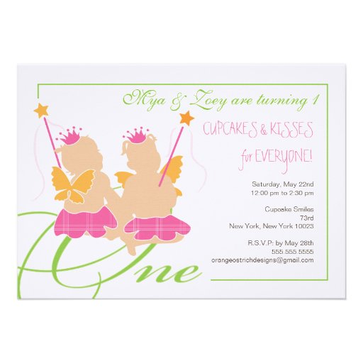 Twins First Birthday Gifts - T-Shirts, Art, Posters & Other Gift Ideas
