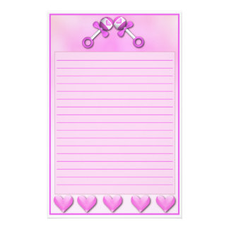 Twin Girls Stationary Stationery