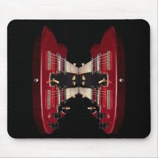 Twin Guitar Mousepad Mouse Pads
