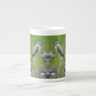 Twin Hummers Bone China Mug/Cup Tea Cup