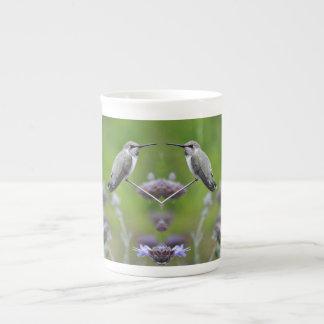 Twin Hummers Bone China Mug/Cup Tea Cup