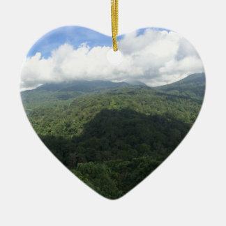 Twin Lakes Bali Ceramic Heart Decoration