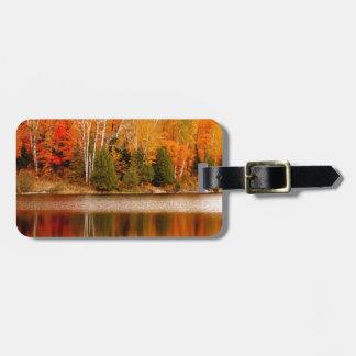 Twin Lakes Fall Colours, St Joseph Island Luggage Tag