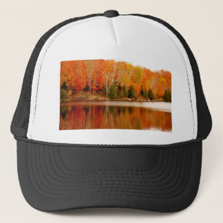 Twin Lakes Fall Colours, St Joseph Island Trucker Hat