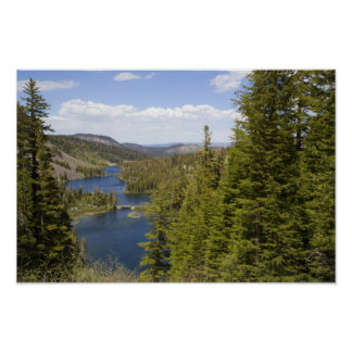 Twin Lakes in Mammoth Poster