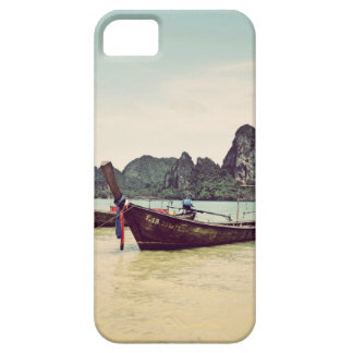 Twin Long-tail Boats Case For The iPhone 5