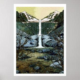 Twin Peak Falls Poster
