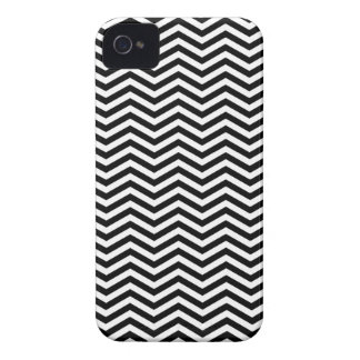 Twin Peaks Black and White Chevron iPhone 4 Case