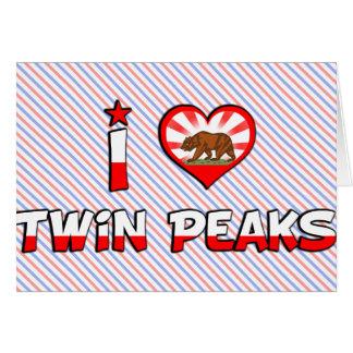 Twin Peaks, CA Card