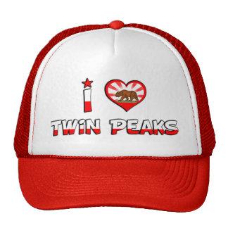 Twin Peaks, CA Mesh Hats