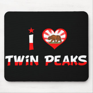 Twin Peaks, CA Mouse Pad