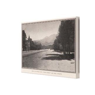 Twin Peaks from Market & Noe streets Canvas Prints